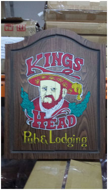 Vintage King's Head Pub & Lodging Dart Board